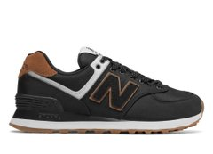 New Balance 574 Deep Black